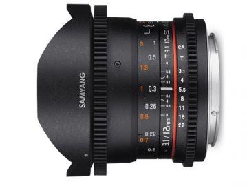 Samyang 12 mm T3.1 VDSLR / Canon