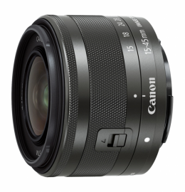 Canon EF-M 15-45 mm f/3.5-6.3 IS STM czarny