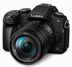 Panasonic LUMIX G80 + ob. 14-140 czarny