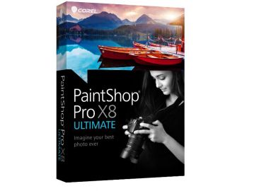 Corel PaintShop Pro X8 Ultimate ML Mini Box