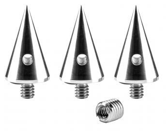 3 Legged Thing Heelz - zestaw 3 kolców (kompatybilne z gwintem 1/4 oraz 3/8 cala)