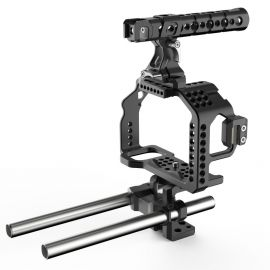 8sinn klatka do a7RII/a7SII, Top Handle Pro, Universal Rod Support
