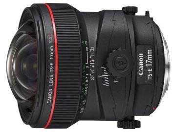 Canon TS-E 17 mm f/4L - Cashback 1075 zł przy zakupie z aparatem!