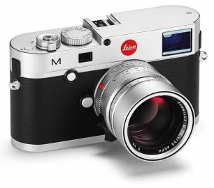 Leica M srebrny