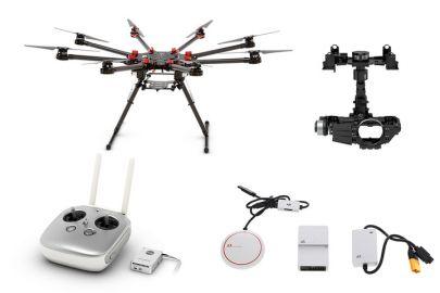 DJI Octocopter S1000+ kontroler lotu A2 DJI GPS + Gimbal Z15 5D (HD)