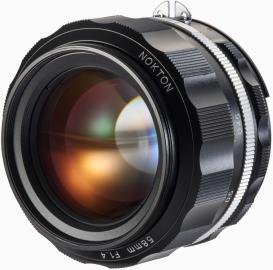 Voigtlander NOKTON 58 mm f/1.4 SL IIs / Nikon F czarny