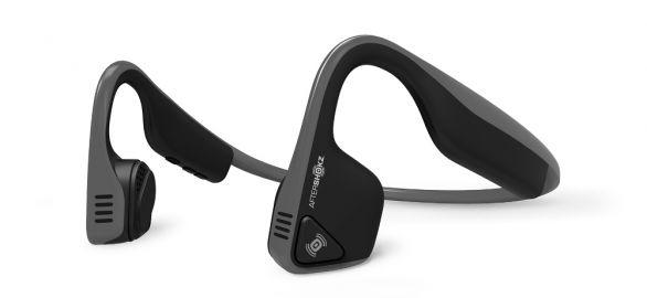 Aftershokz Słuchawki Trekz Titanium z technologią przewodnictwa kostnego szare