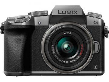 Panasonic Lumix DMC-G7 + ob. 14-42 srebrny