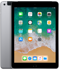 Apple iPad Wi-Fi + Cellular 128GB (2018) gwiezdna szarość