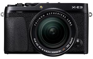 FujiFilm X-E3 + ob. 18-55 mm f/2.8-4.0 czarny + pokrowiec gratis