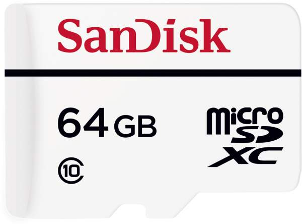 Karta pamięci Sandisk microSDXC 64 GB High Endurance Video Monitoring Home