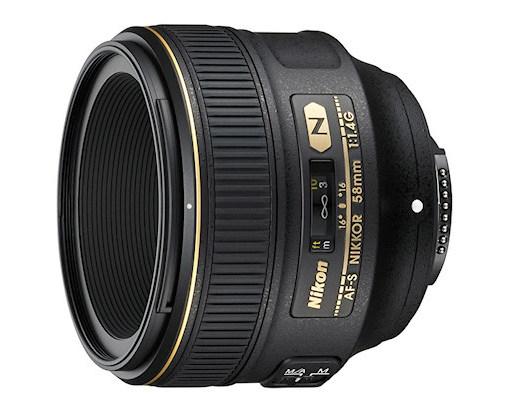Obiektyw Nikon Nikkor 58 mm f/1.4G AF-S - Cashback 430zł
