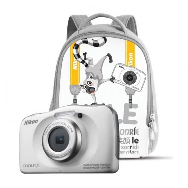 d5bce694707ea Nikon COOLPIX W100 biały + plecak - Aparaty cyfrowe - Foto - Sklep  internetowy Cyfrowe.pl