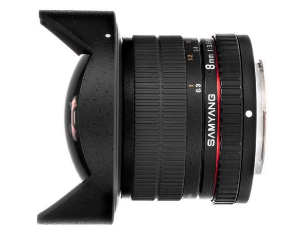 Obiektyw Samyang 8 mm T3.8 Fish-eye VDSLR CS II / Sony E