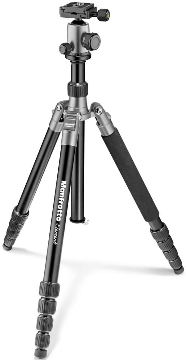 Statyw Manfrotto Element Traveller Big szary