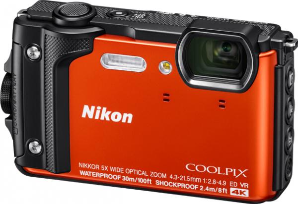7a9ba6896b06a Nikon Coolpix W300 pomarańczowy - Aparaty cyfrowe - Foto - Sklep ...