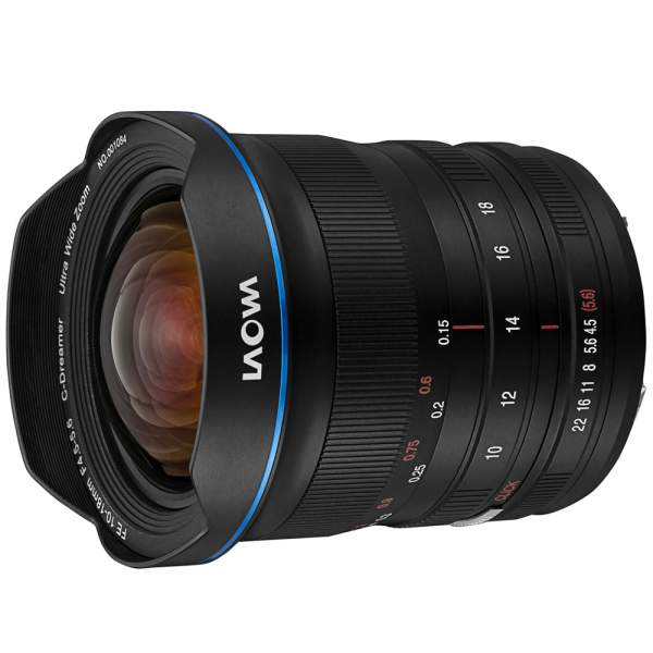 Obiektyw Venus Optics Laowa C-Dreamer 10-18 mm f/4,5-5,6 do Nikon Z