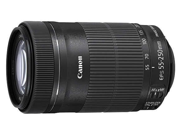 Obiektyw Canon 55-250 mm f/4-f/5.6 EF-S IS STM - Cashback