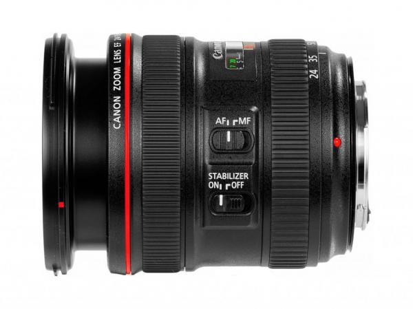 Obiektyw Canon 24-70 mm f/4.0L EF IS USM
