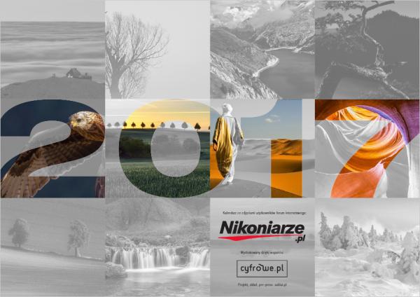Nikoniarze.pl Kalendarz ścienny na 2017 rok